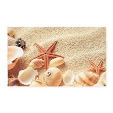 Seashells 3'x5' Area Rug