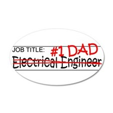 Job Dad Elect Eng Wall Decal