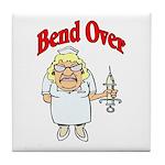 Favorite Nurse Design Tile Coaster
