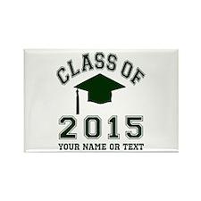 Class Of 2015 Graduation Rectangle Magnet