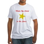 Make Up Artist to the Stars Fitted T-Shirt