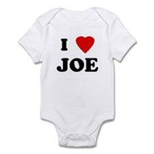 I Love JOE Infant Bodysuit