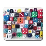 Dice-0-Rama Mousepad