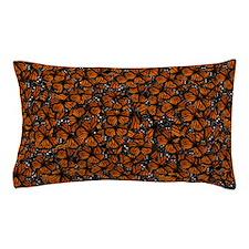 Countless Monarch Butterflies Pillow Case