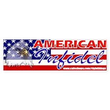 American Infidel Bumper Bumper Sticker