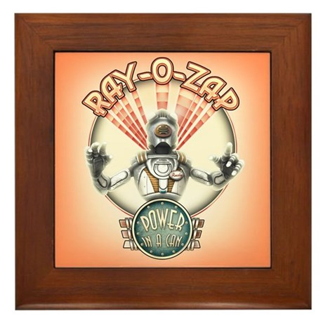 Ray-O-Zap Framed Tile