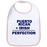 Puerto Rican + Irish Bib