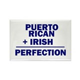 Puerto Rican + Irish Rectangle Magnet (100 pack)