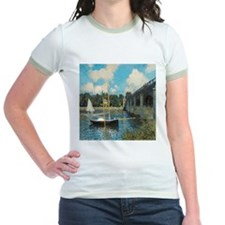 The Bridge at Argenteuil by Monet T-Shirt