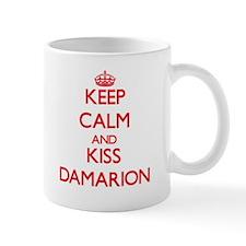 Keep Calm and Kiss Damarion Mugs