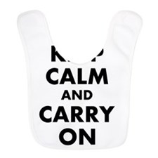 Keep calm and carry on | Personalized Bib