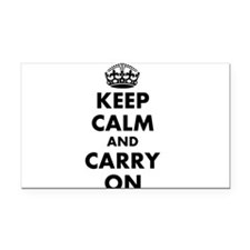 Keep calm and carry on | Personalized Rectangle Ca