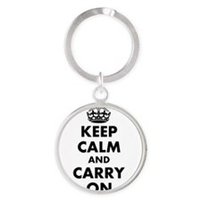 Keep calm and carry on | Personalized Keychains