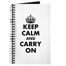 Keep calm and carry on | Personalized Journal