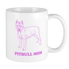 Pitbull Mom Mugs