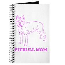 Pitbull Mom Journal For Dog Lover