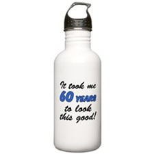 Took 60 Years Look Good Water Bottle