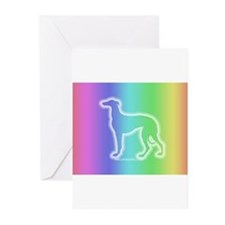 Cute Greyhound colors Greeting Cards (Pk of 20)
