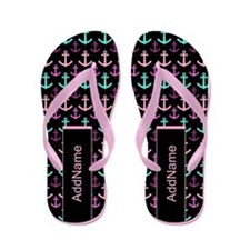 Personalized Sailing Anchors Flip Flops