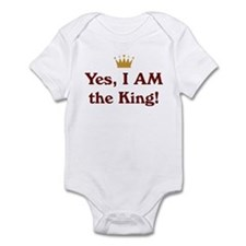 Yes, I AM the King Infant Bodysuit