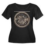 watermeterlidlsepia.png Plus Size T-Shirt