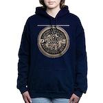 watermeterlidlsepia.png Women's Hooded Sweatshirt