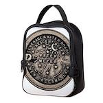 watermeterlidlsepia.png Neoprene Lunch Bag