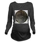 fishvoverjpg2.jpg Long Sleeve Maternity T-Shirt
