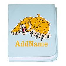 Tiger Roar Custom baby blanket