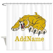 Tiger Roar Custom Shower Curtain