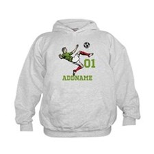 Customizable Soccer Hoody