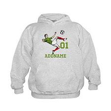 Customizable Soccer Hoody