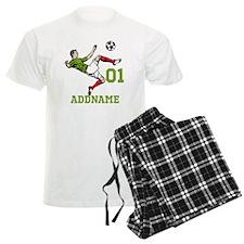 Customizable Soccer Pajamas