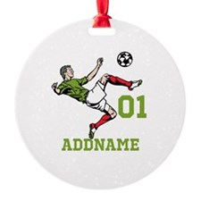 Customizable Soccer Ornament