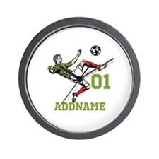 Customizable Soccer Wall Clock