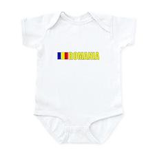 Romania Flag (Dark) Infant Bodysuit