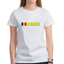 Romania Flag (Dark) Tee