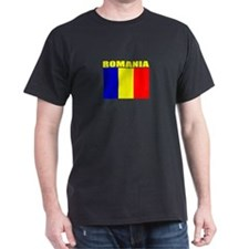 Romania Flag (Dark) T-Shirt