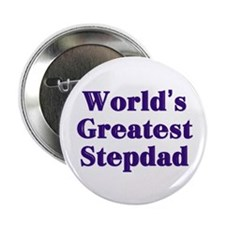 "World's Greatest Stepdad 2.25"" Button (100 pack)"