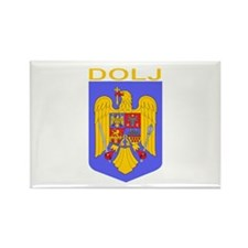 Dolj, Romania Rectangle Magnet (100 pack)