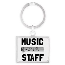 Music Staff Keychains