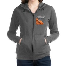 Home Is Where You Park It - Tra Women's Zip Hoodie