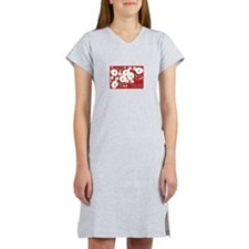 Love And Poppies Women's Nightshirt