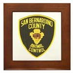 Berdoo Animal Control Framed Tile