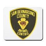 Berdoo Animal Control Mousepad