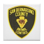 Berdoo Animal Control Tile Coaster