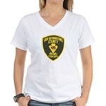 Berdoo Animal Control Women's V-Neck T-Shirt