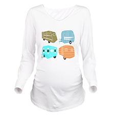 Rambling RVs Long Sleeve Maternity T-Shirt