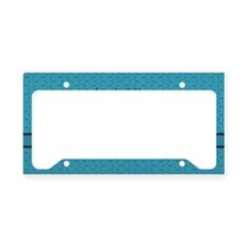 Philippians 4:13 Word teal License Plate Holder