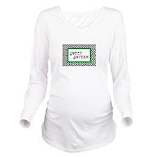 Sweet Sixteen Long Sleeve Maternity T-Shirt
